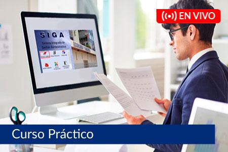 Sistema Administrativo en Gestión Administrativa - SIGA - Del 18 de julio al 15 de agosto de 2021