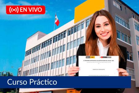 Preparación para la Certificación OSCE - Del 25 de agosto al 8 de septiembre de 2021