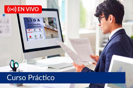 Sistema Integrado de Gestión Administrativa SIGA - Del 03 de septiembre al 01 de octubre de 2021