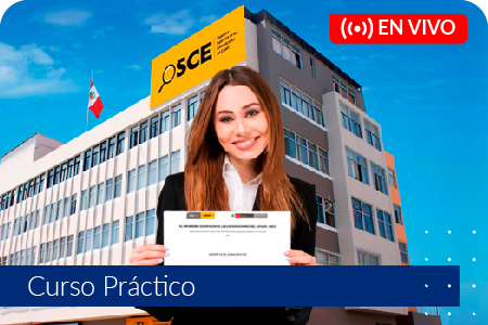 Preparación para la Certificación OSCE - Del 29 de setiembre al 7 de octubre de 2020