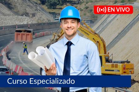 Curso Especializado en Valorización y Liquidación de Obras Públicas - Del 19 de enero al 16 de febrero de 2021