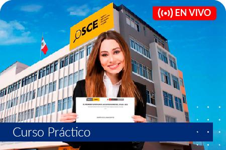Preparación para la Certificación OSCE - Del 31 de marzo al 10 de abril de 2021